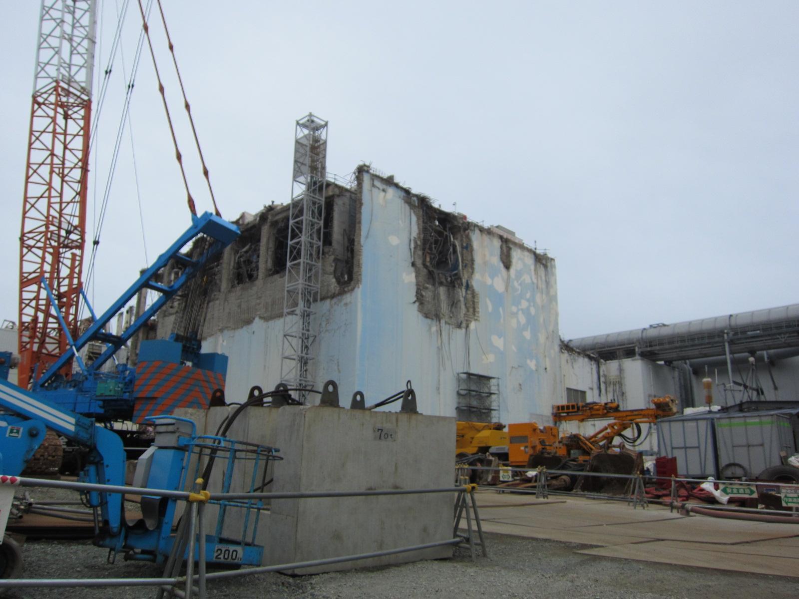 4号機原子炉建屋