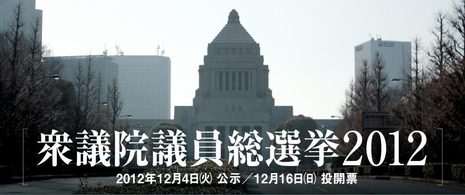 衆議院議員総選挙2012