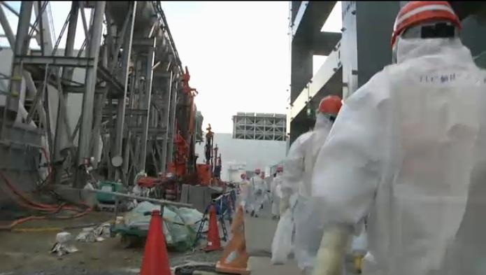 凍土壁設置工事