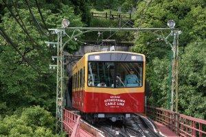 京阪電鉄「男山ケーブル」