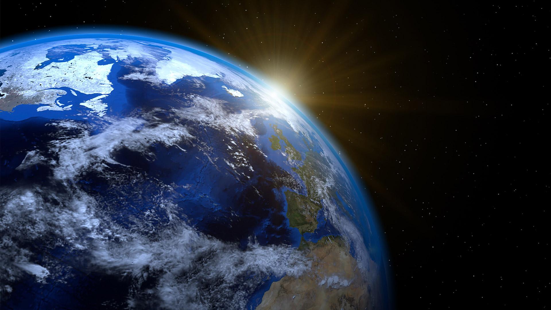 合成予定の惑星(地球)