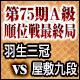 将棋 第75期A級順位戦最終局 羽生善治三冠 vs 屋敷伸之九段