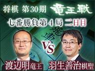 将棋◆竜王戦 渡辺竜王 vs 羽生棋聖