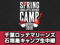 千葉ロッテ 石垣キャンプ