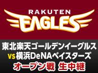 【オープン戦】楽天 vs DeNA