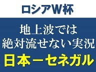 W杯 日本 vs セネガル 実況解説