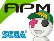 『セガAPMチャンネル「GUILTY GEAR Xrd -SIGN-」「DEAD OR ALIVE 5 Ultimate: Arcade」「電撃文庫ファイティングクライマックス」』のサムネイルの背景
