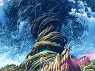 『世界樹の迷宮シリーズ10周年記念特番』のサムネイルの背景