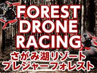 林間ドローンレース