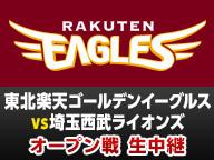 【プロ野球オープン戦】東北楽天 vs 埼玉西武