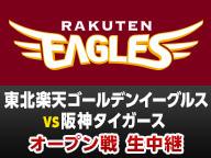 プロ野球オープン戦◆楽天vs阪神