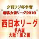 【麻雀】夕刊フジ杯争奪麻雀女流リーグ2019 大阪1組第2節
