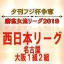 【麻雀】夕刊フジ杯争奪麻雀女流リーグ2019 大阪1組第3節