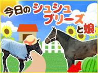 【みんなの馬】今日のシュシュブリーズと娘