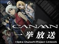 「CANAAN」全13話一挙放送