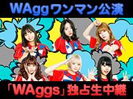 WAggワンマン公演「WAggs」 独占生中継