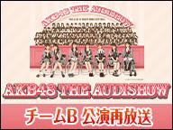 「AKB48 THE AUDISHOW」チームB 再放送
