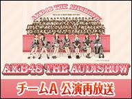 「AKB48 THE AUDISHOW」チームA 再放送